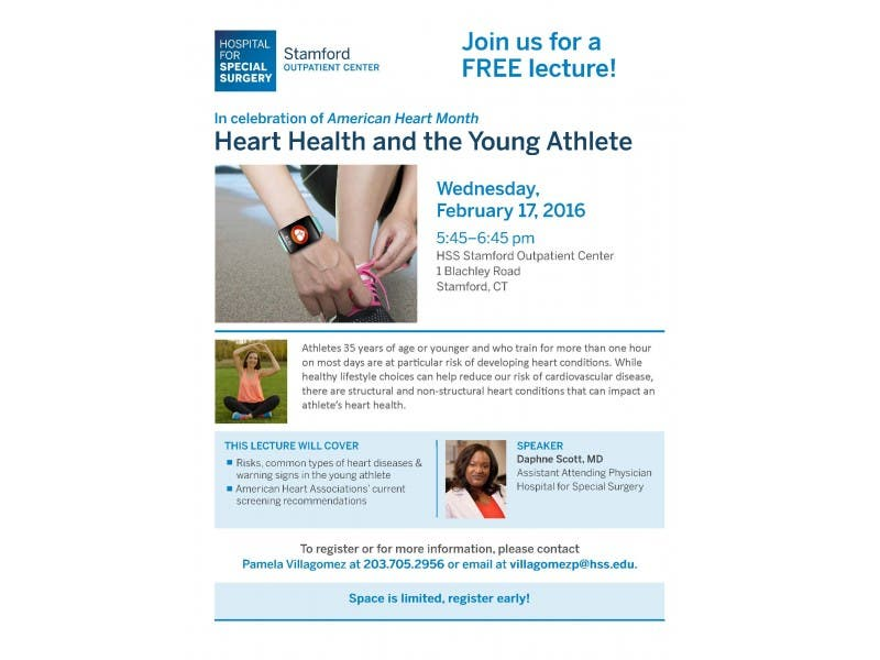 Heart Health And The Young Athlete Stamford Ct Patch