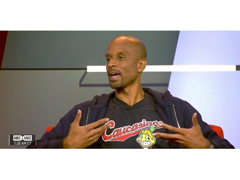 Bomani Jones of ESPN Wears  Caucasians  Shirt 4d5455740