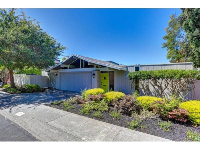 Iconic Eichler In Marin County Mill Valley Ca Patch