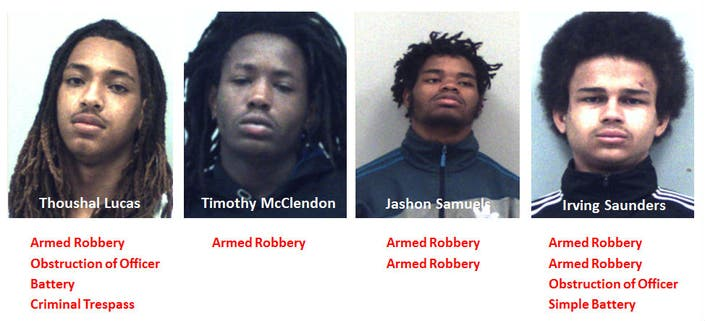 Snellville Armed Robbery Suspects Quickly Nabbed