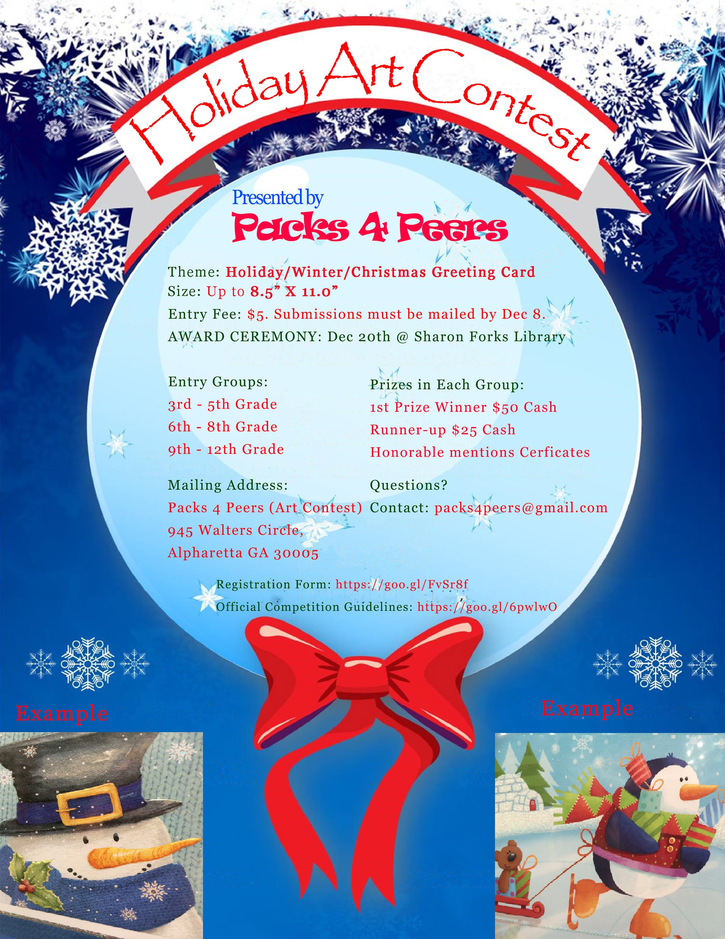 Packs 4 Peers brings Holiday Cheer by announcing a Holiday