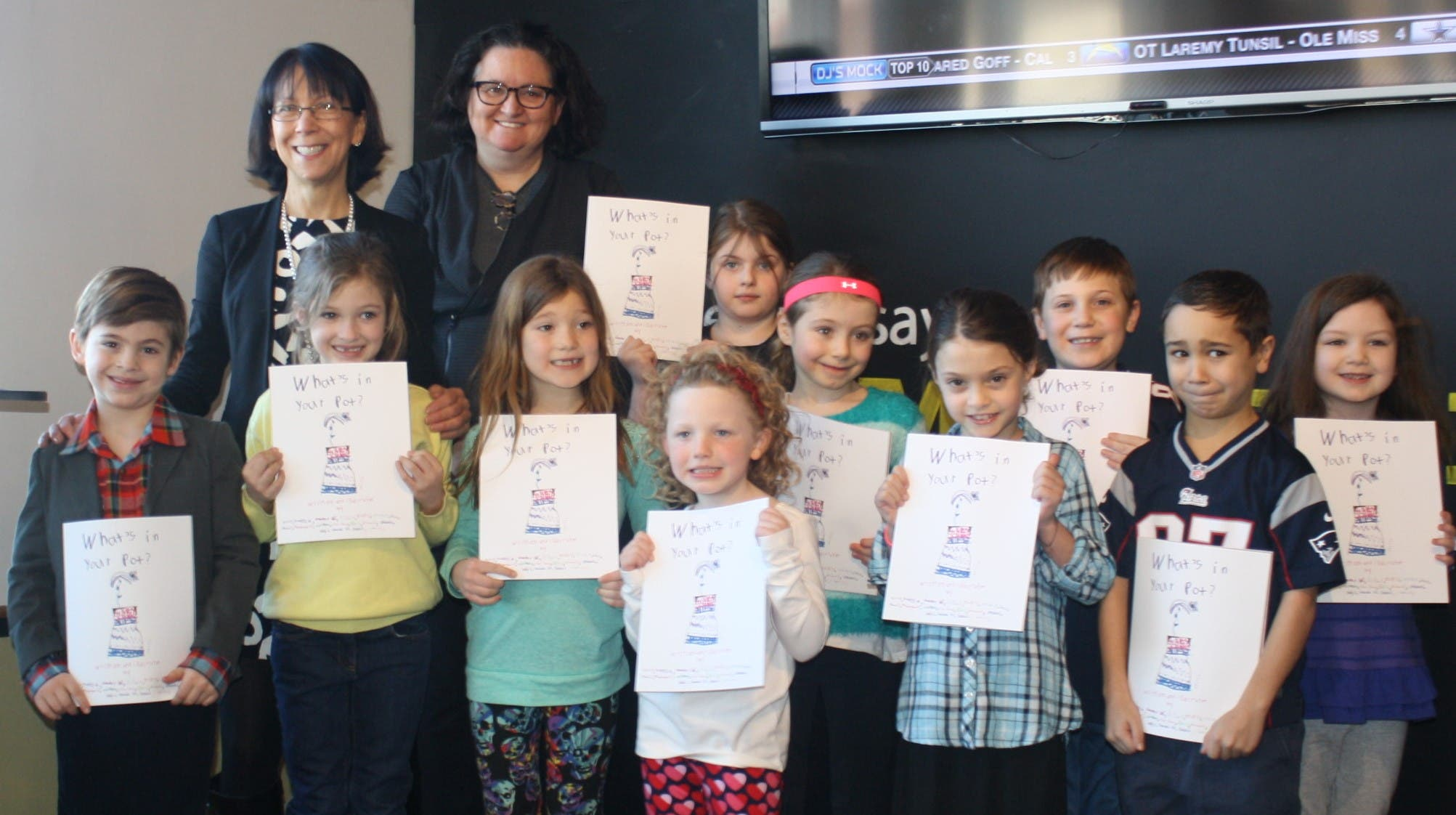 Lynnfield Elementary School Children Become Published