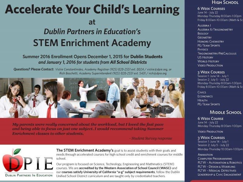 Academic Summer Programs Dublin Ca Patch