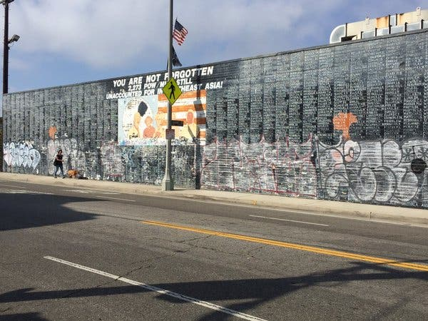 Vietnam War Mural In Southern California Vandalized Before Memorial Day Venice Ca Patch
