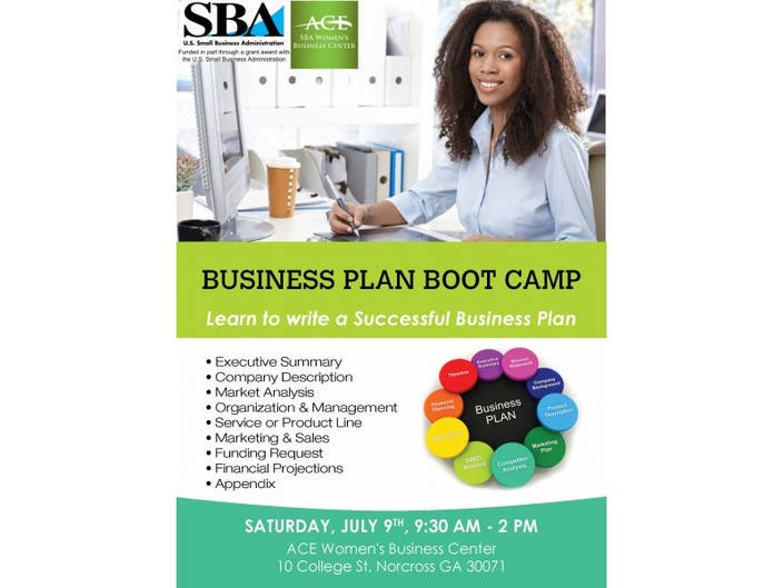 Business Plan Boot Camp - Learn to write a successful business plan