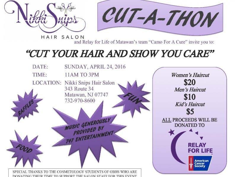 Nikkisnips Hair Salon Relay For Life Of Matawans Team Camo For A