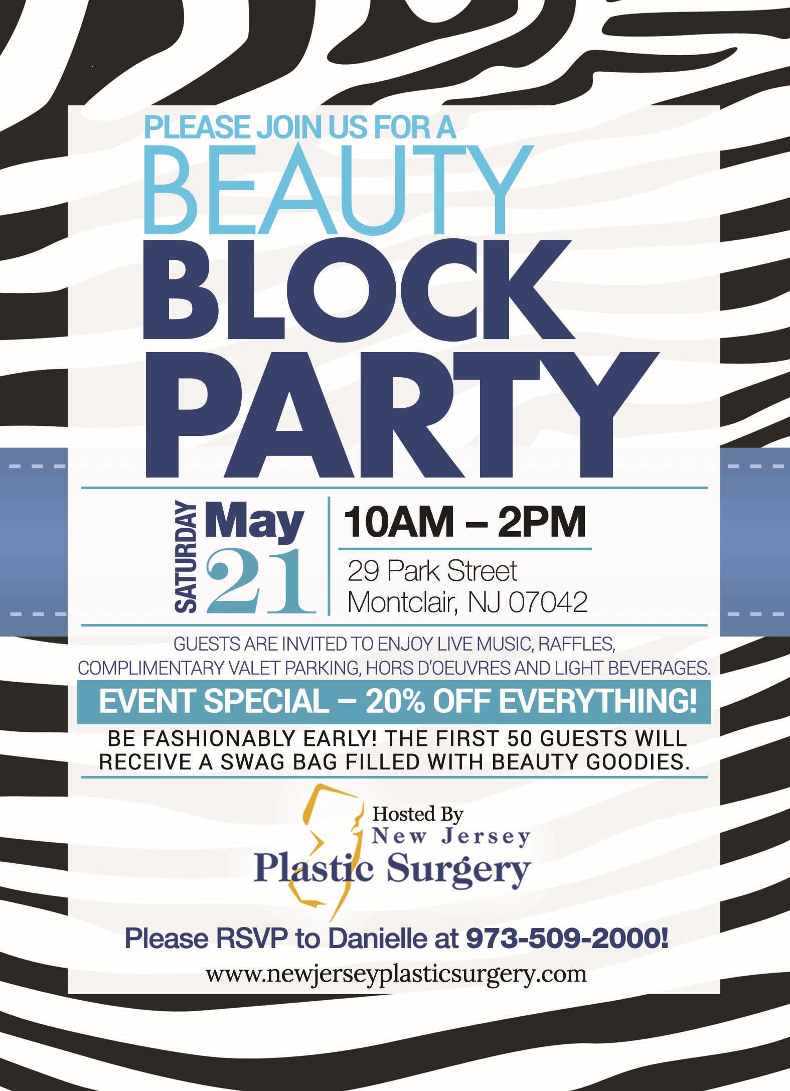 Fun-Filled Block Party Event Focused on Beauty Professionals
