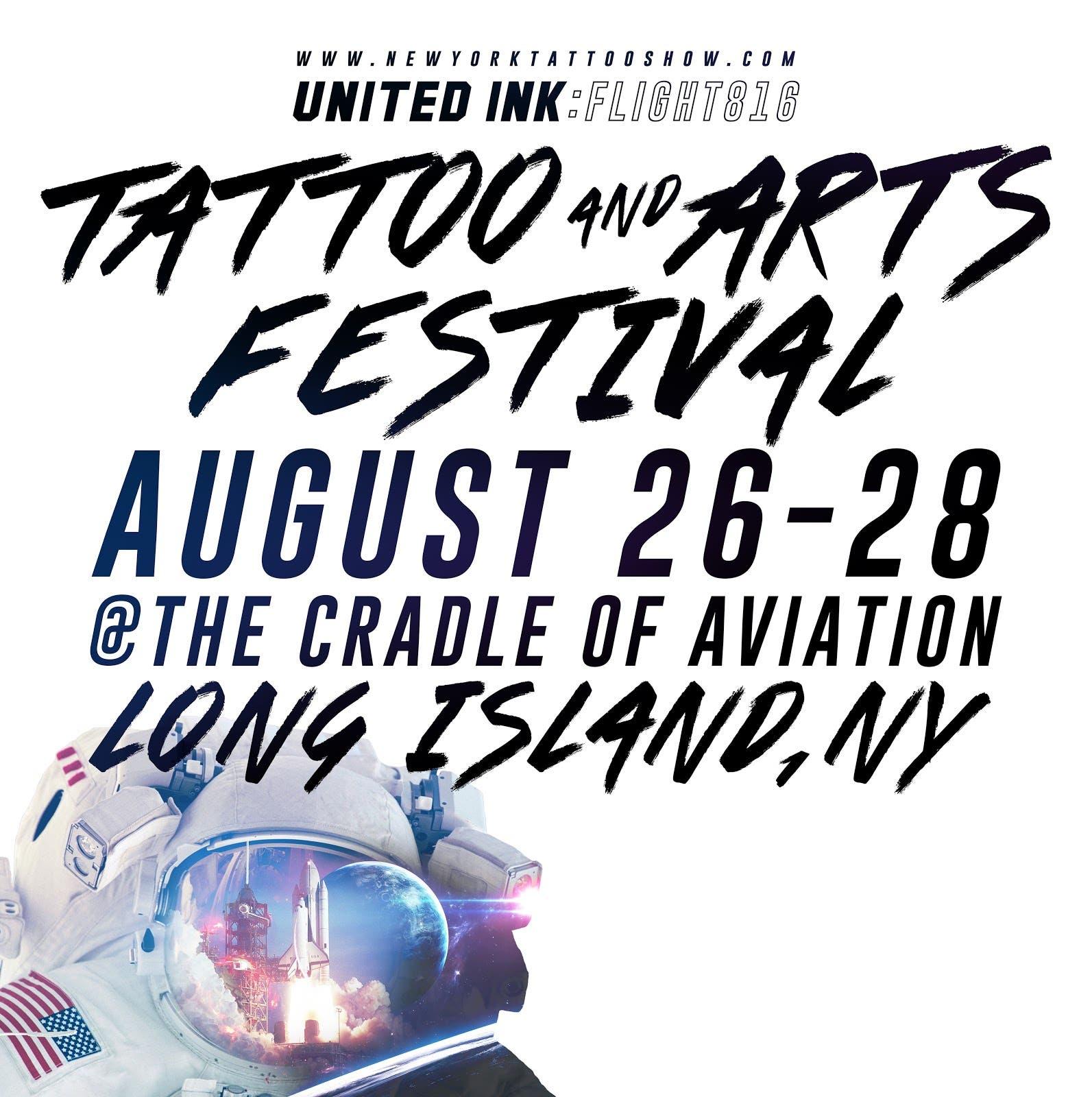 WORLD FAMOUS TATTOO INK PRESENTS: UNITED INK FLIGHT 816 TATTOO ...
