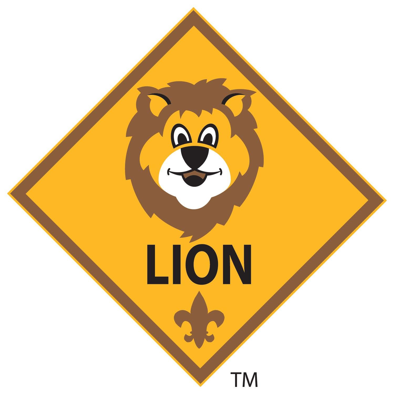 lion patch placement cub scouts