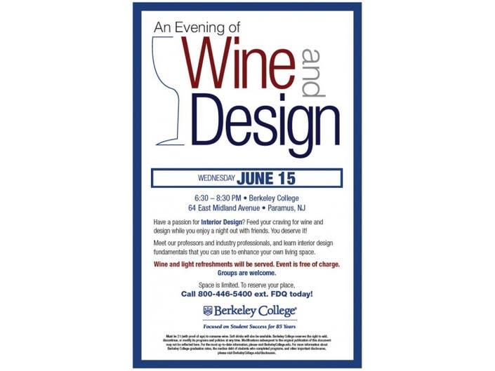 Swell Wine Design At Berkeley College Paramus Nj Patch Home Interior And Landscaping Spoatsignezvosmurscom