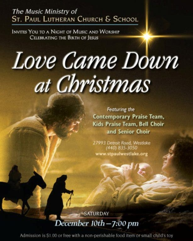 Love Came Down At Christmas.Love Came Down At Christmas Concert Westlake Oh Patch