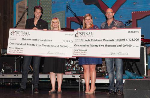 Spinal Elements Donates $225K to Children Charities