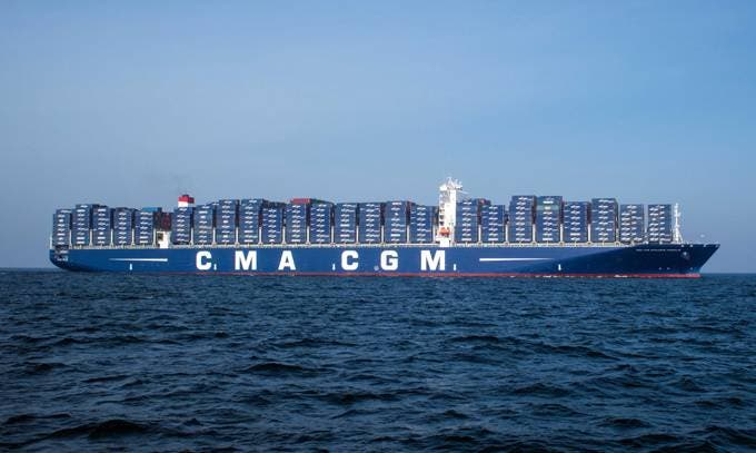 Largest Container Ship Coming to Port of Los Angeles