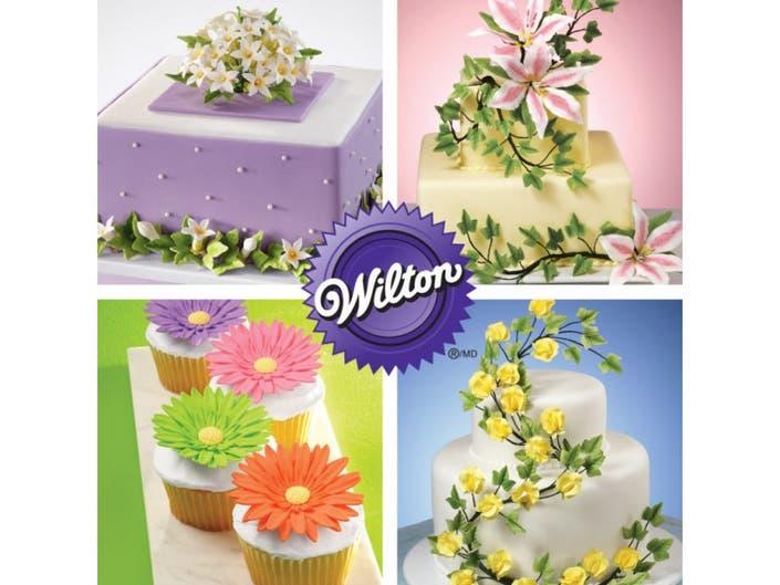 Wilton Course 4 Advanced Gum Paste Flowers Classes Freehold Nj