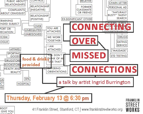 Connecting Over Missed Connections: a talk by New York