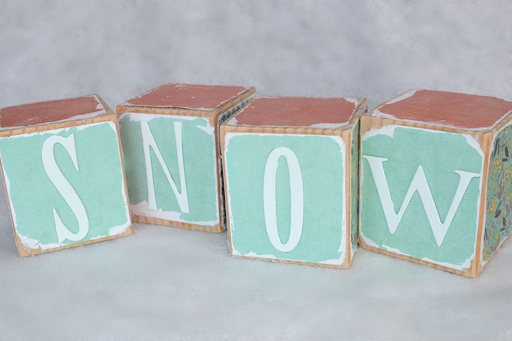 Diy Wooden Letter Blocks The Haddams Ct Patch
