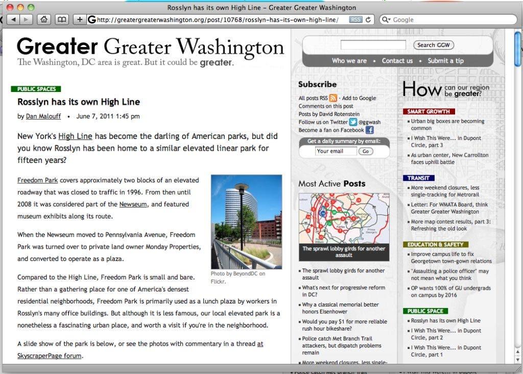 Surf Report: Must-See Arlington Websites | Arlington, VA Patch