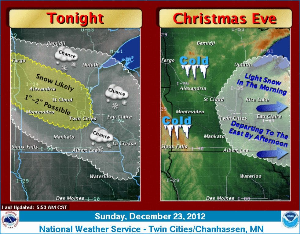 White Christmas Forecast.White Christmas Insurance 1 2 Inches Of Snow In Forecast