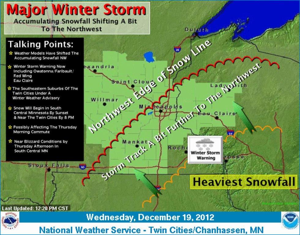 UPDATE: Winter Weather Advisory in Effect for Dakota County