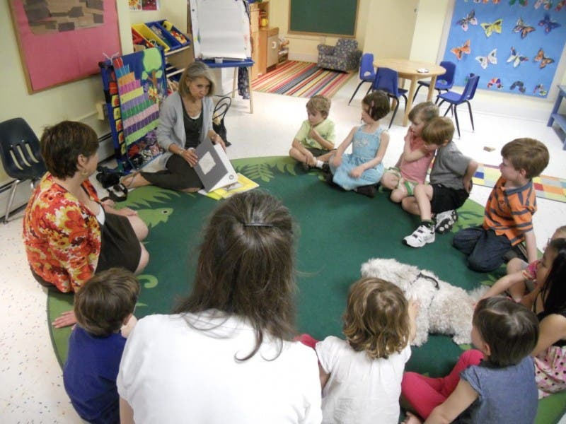 An Author Talk And Walk At St Stephen S Nursery School