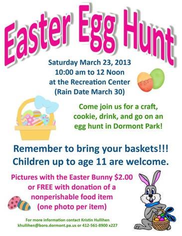 Dormont Easter Egg Hunt | Dormont, PA Patch