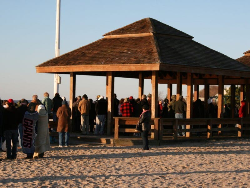 Easter sunday sunrise service at corey beach sayville ny patch
