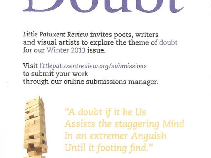 Little Patuxent Review - Call For Submissions   Columbia, MD