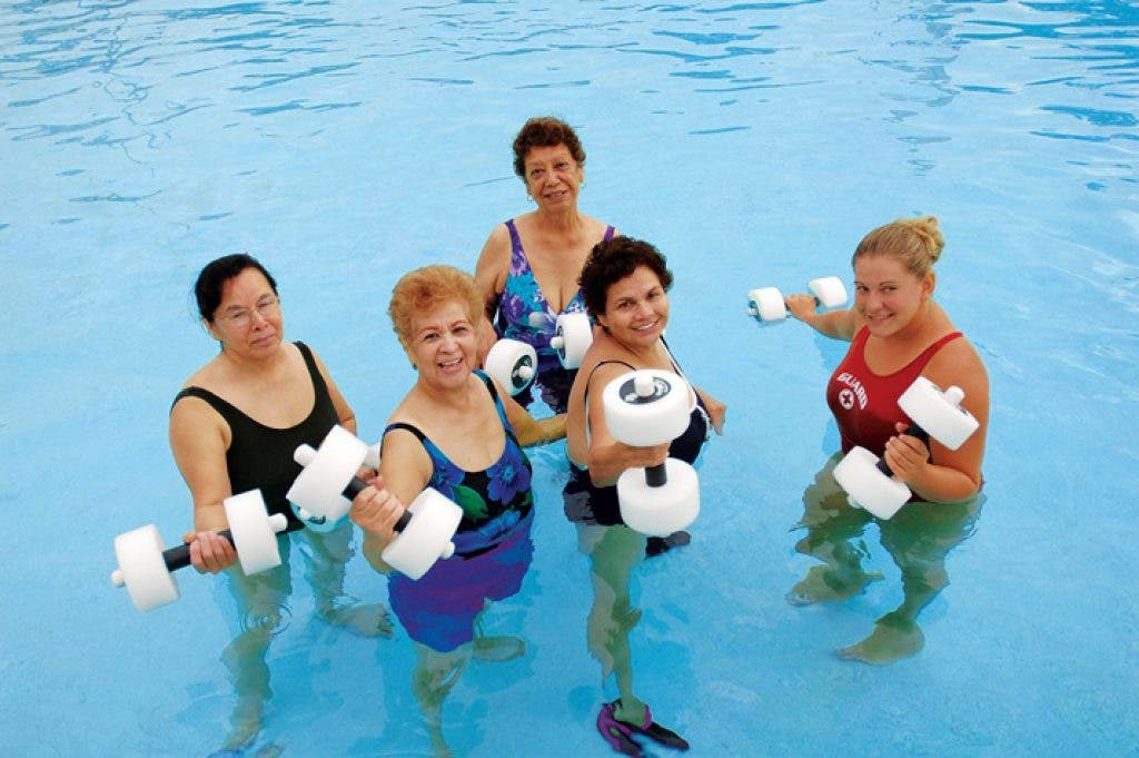 Get in Shape with Water Workouts | Johns Creek, GA Patch