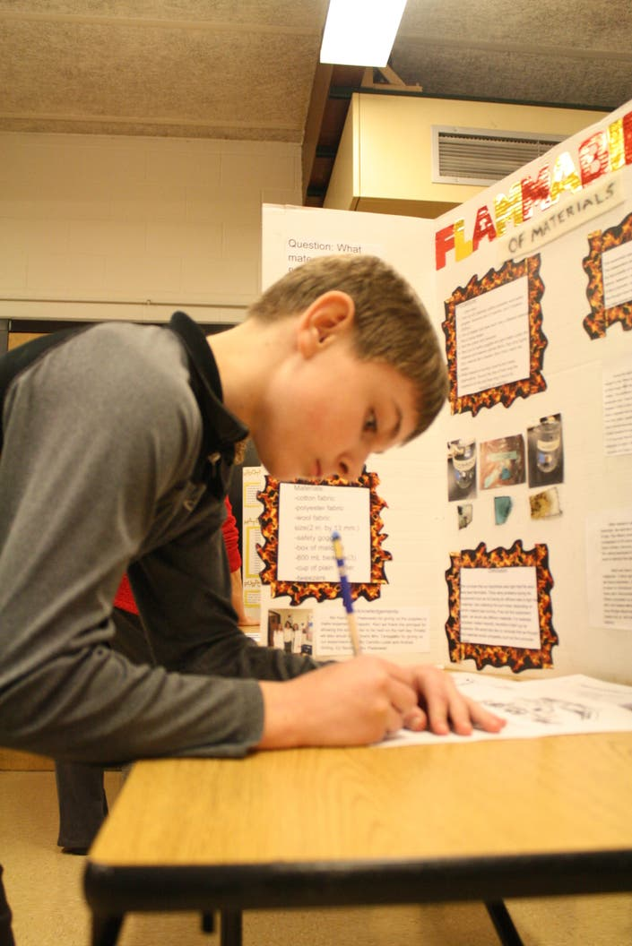 Cass Junior High School Science Projects to be Displayed at
