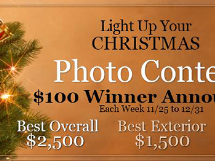 Christmas Lights Etc Gives Away Over 5 000 In Prizes