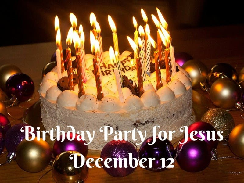 A Birthday Party For Jesus Dec 12 2015 North Kingstown Ri Patch