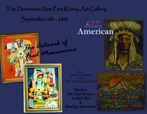 September Exhibits At The Downtown New Port Richey Art