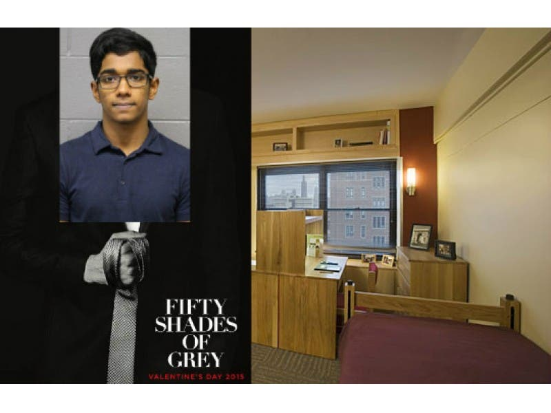 Accused 50 Shades Of Grey Acts Out Movie Fantasy In His Uic Dorm