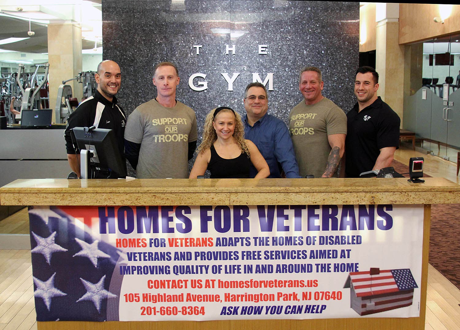 The gym fundraiser to help disabled veteran westwood nj patch