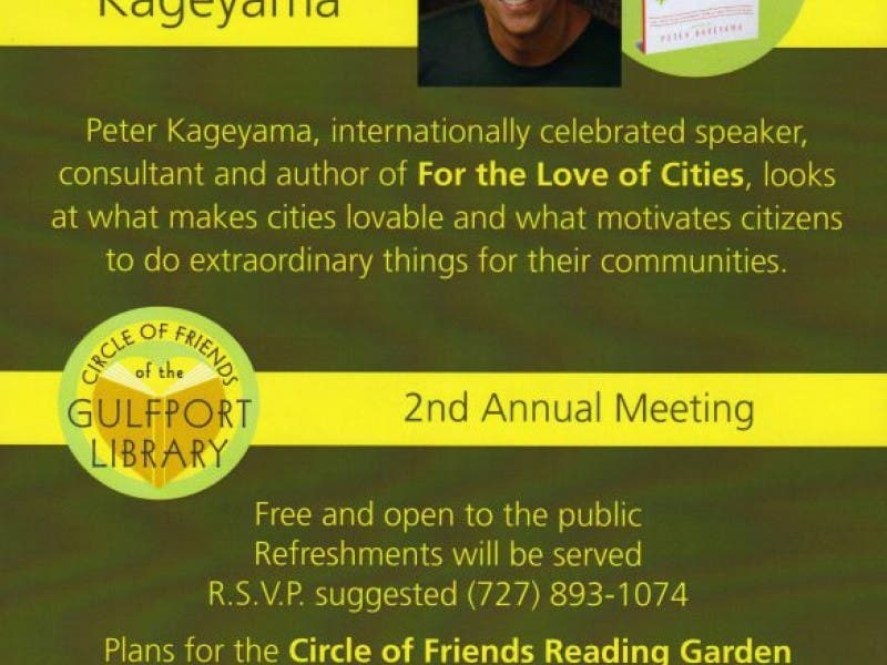 2nd Annual Circle Of Friends Meeting Is Tuesday February 19 At 7 Pm