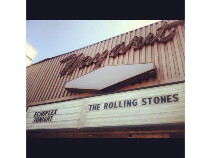 Rolling Stones Play Echo Park's Echoplex in Secret Show