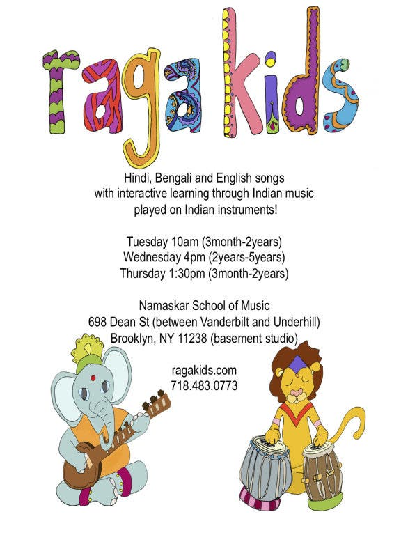 Raga Kids: Music of India and America played on Traditional