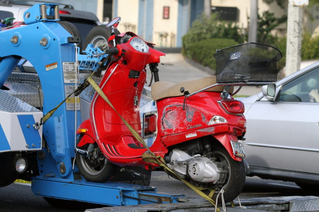 Updated: Pacific Coast Highway Closed After Scooter-Truck