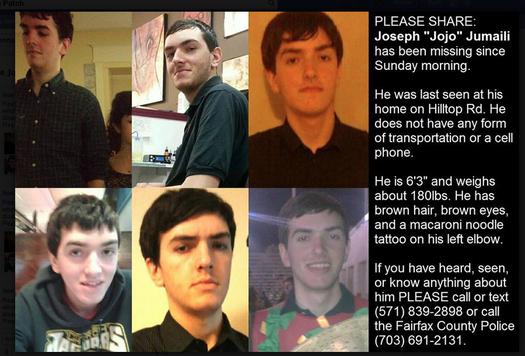 Vienna Teen Missing   Vienna, VA Patch