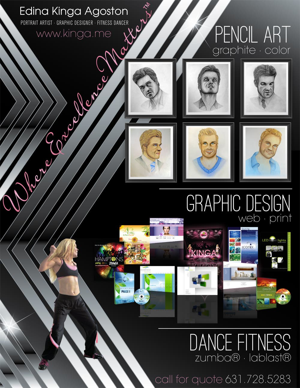 Graphic Web Design Portrait Art Dance Fitness In The Hamptons Long Island New York Westhampton Ny Patch