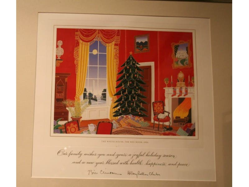 White House Christmas Cards: 1945 to the Present | Lower Providence ...