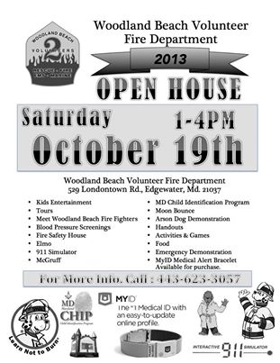 Woodland Beach Vol  Fire Dept  Open House | Edgewater, MD Patch