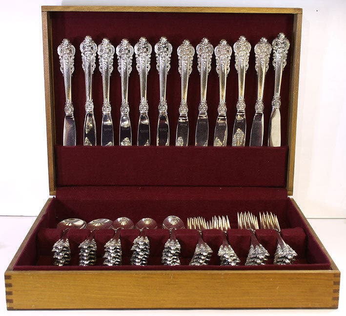 How To Clean Sterling Silver Flatware To Keep Or Sell