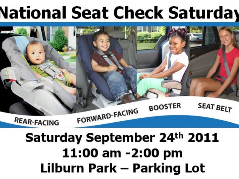 Child Seat Inspection At Lilburn Park