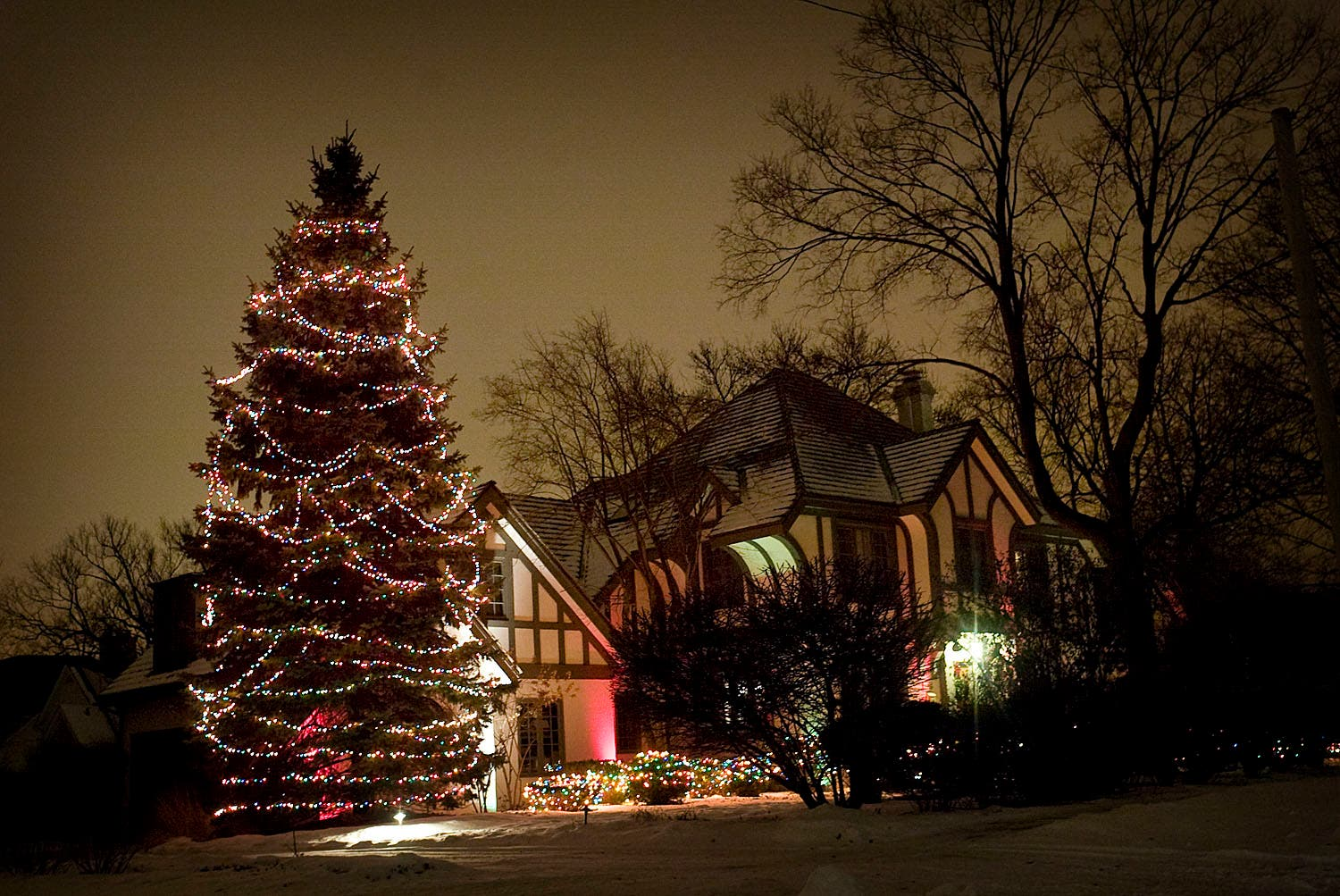 Photo Gallery Hinsdale Holiday Light Tour Il Patch