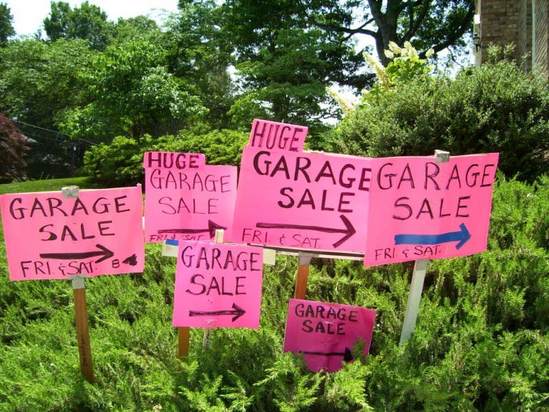patch 101 advertise your garage sale woodstock ga patch