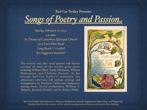 RCT Presents: Songs of Poetry and Passion | Long Beach, CA Patch