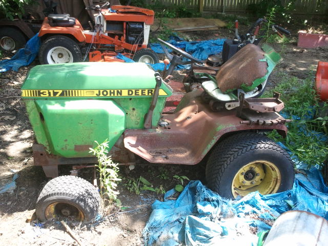 For Sale Vintage John Deere And Simplicity Garden Tractors Clawson Mi Patch