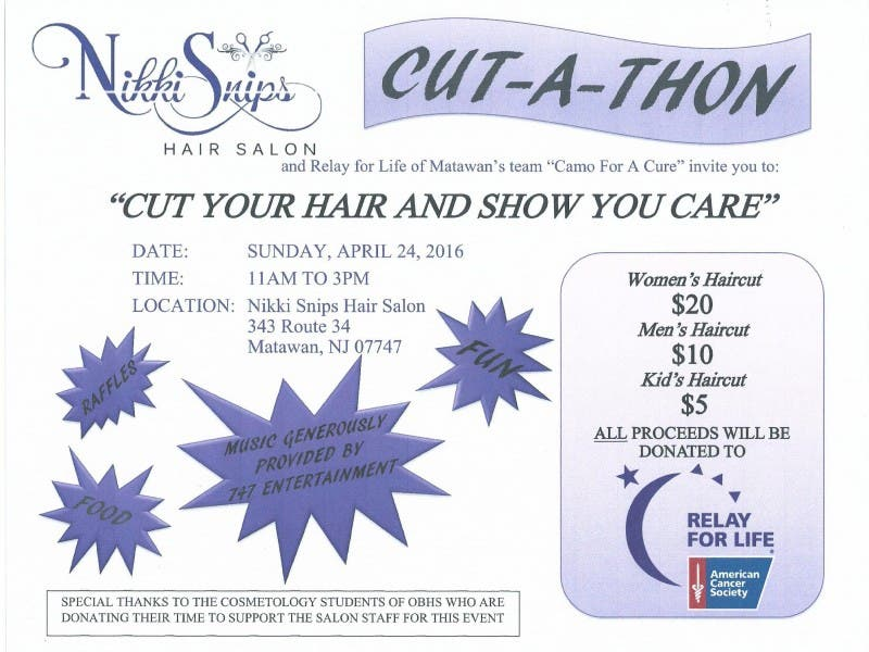 Team Camo For A Cure And Nikki Snips Host Cut A Thon To Benefit