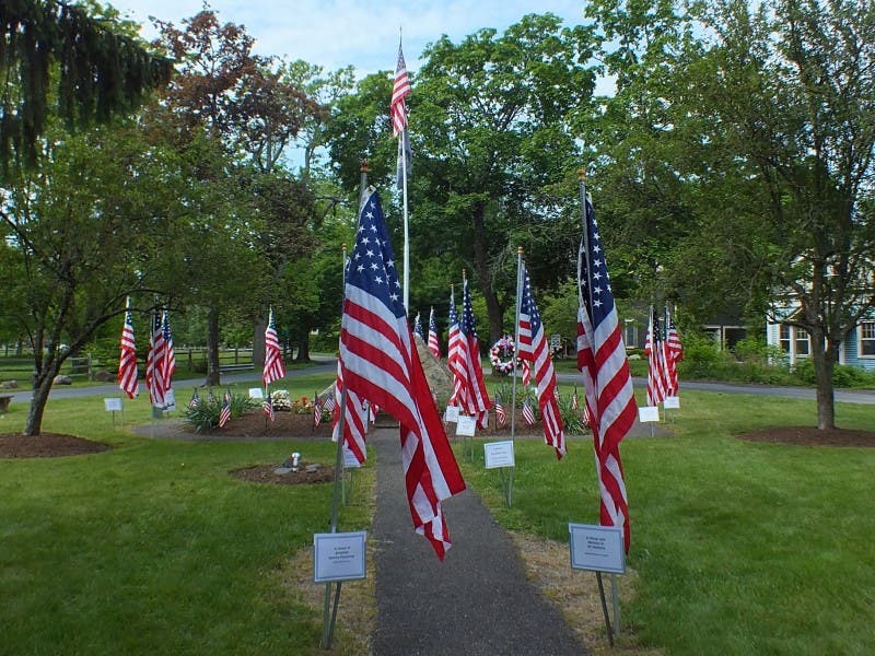 The Green Village Fire Department Would Like To Honor Those Who Have Served Their Country Or Community A 3 X 5 Flag Will Be Erected On In